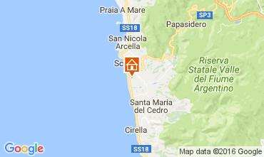Mapa Scalea Apartamento 106960