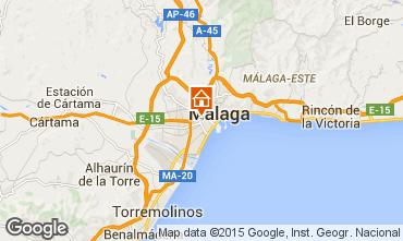 Mapa Málaga Apartamento 62297