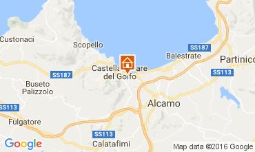 Mapa Castellammare del Golfo Casa 67481