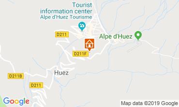 Mapa Alpe d'Huez Apartamento 117531