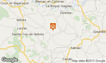 Mapa Sarlat Casa rural 13545