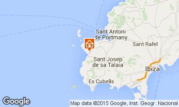 Mapa Cala Tarida Apartamento 42089