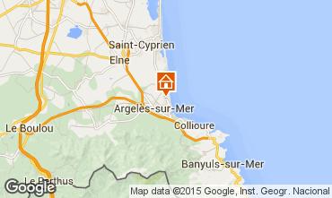Mapa Argeles sur Mer Apartamento 43942