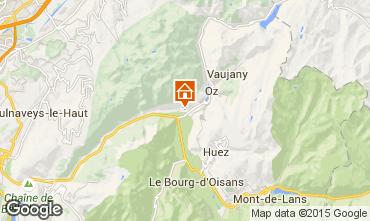Mapa Alpe d'Huez Apartamento 65901