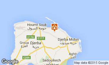 Mapa Djerba Villa 9886