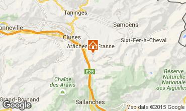 Mapa Les Carroz d'Araches Apartamento 50914
