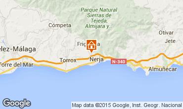 Mapa Nerja Casa rural 65400
