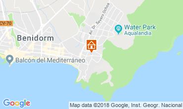 Mapa Benidorm Apartamento 116824