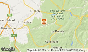 Mapa Gérardmer Chalet 74651