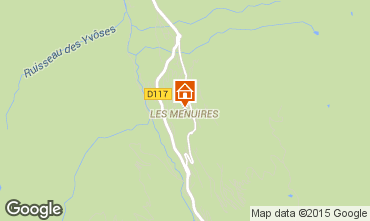 Mapa Les Menuires Apartamento 76105