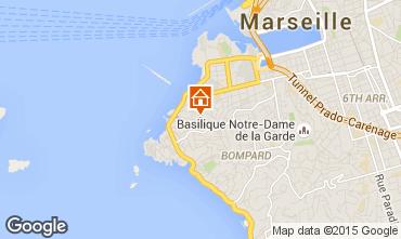 Mapa Marsella Apartamento 74517