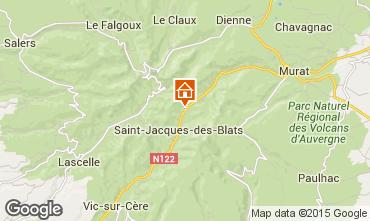 Mapa Le Lioran Casa rural 38545