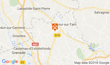 Mapa Tolosa Casa rural 97194