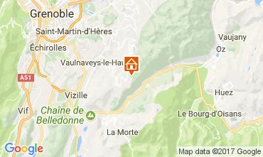Mapa Chamrousse Apartamento 101320