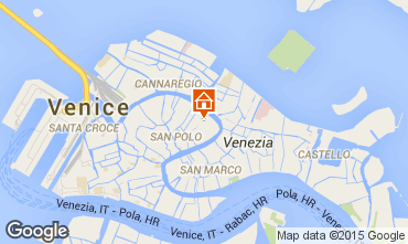 Mapa Venecia Apartamento 21031