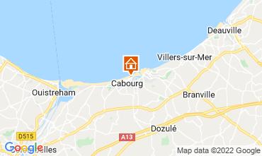 Mapa Cabourg Apartamento 10782