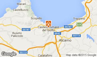 Mapa Castellammare del Golfo Apartamento 49143