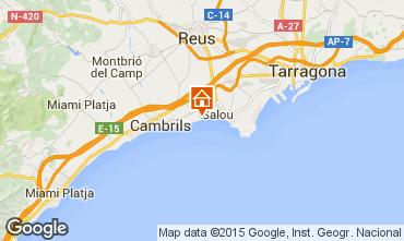 Mapa Cambrils Apartamento 78295