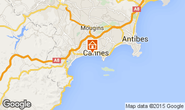 Mapa Cannes Apartamento 5542