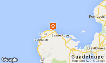 Mapa Sainte Rose Casa rural 62646