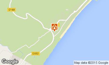 Mapa Narbonne plage Villa 81296
