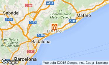 Mapa Barcelona Casa 44076