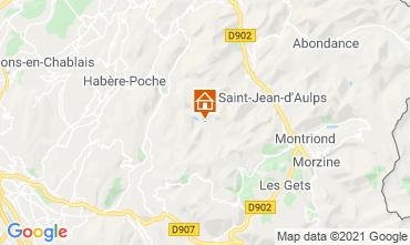 Mapa Bellevaux Hirmentaz La Ch�vrerie Estudio 56981