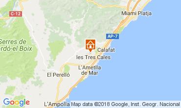 Mapa La Ametlla de Mar Villa 39451