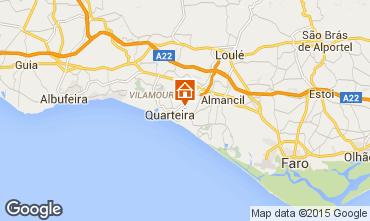 Mapa Quarteira Villa 90228