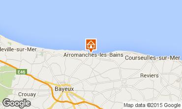 Mapa Bayeux Casa rural 81097