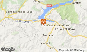 Mapa Barcelonnette Mobil home 93371