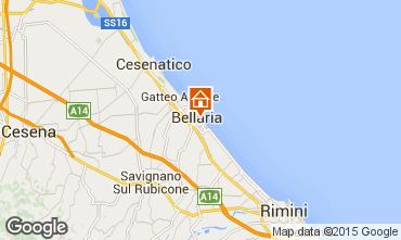 Mapa Bellaria Igea Marina Apartamento 88414