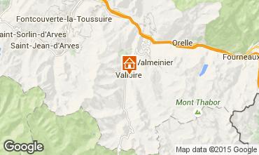 Mapa Valloire Apartamento 100352