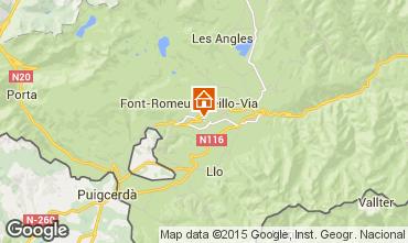 Mapa Font Romeu Apartamento 52616