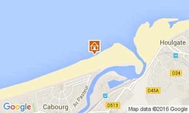 Mapa Cabourg Apartamento 83196