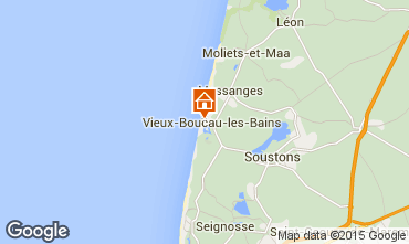 Mapa Vieux Boucau Apartamento 10054