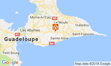 Mapa Sainte Anne (Guadalupe) Casa 115139