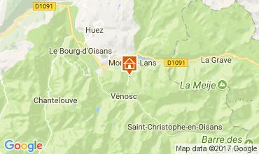 Mapa Les 2 Alpes Apartamento 57671
