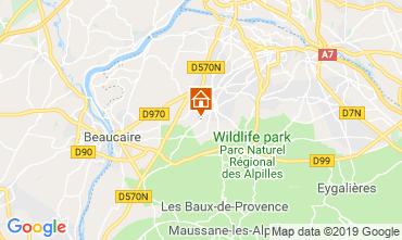 Mapa Saint Rémy de Provence Casa rural 118685