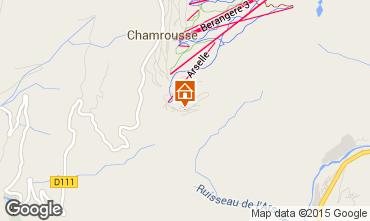 Mapa Chamrousse Apartamento 58470