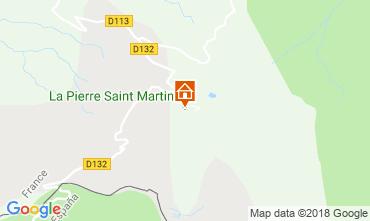 Mapa Arette La Pierre Saint Martin Apartamento 3958