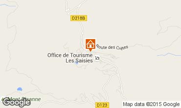 Mapa Les Saisies Apartamento 29243