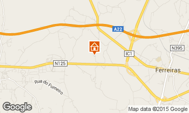 Mapa Albufeira Villa 67193