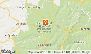 Mapa Gérardmer Casa rural 97695