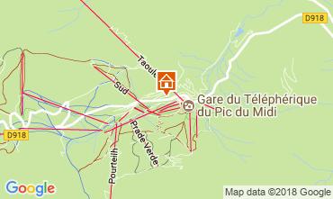 Mapa La Mongie Apartamento 115586