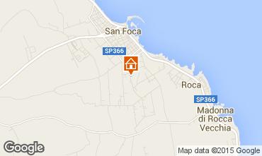 Mapa San Foca Apartamento 79395