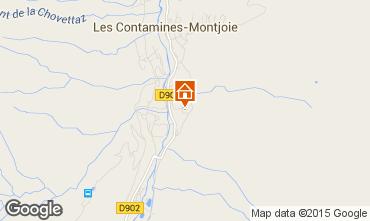 Mapa Les Contamines Montjoie Casa 16107