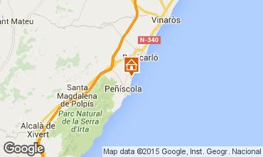 Mapa Peñíscola Apartamento 97510