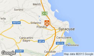 Mapa Siracusa Villa 101171