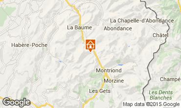 Mapa Saint Jean d'Aulps- La Grande Terche Chalet 55341
